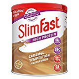 SlimFast Meal Replacement Shake Powder, Caramel Temptation, 438 g'